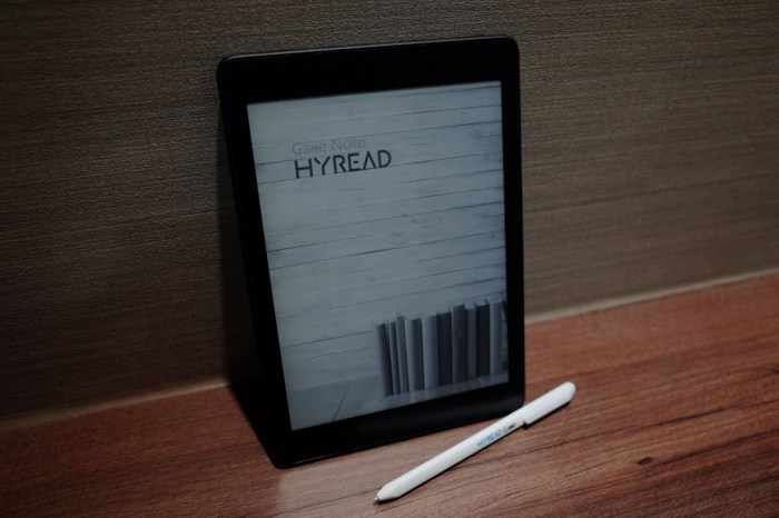 HyRead Gaze Note 電子紙閱讀器漂流計畫試用心得
