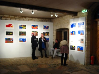 the exhibition in ruskin mill, gloucestershire, uk - 2009
