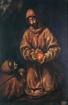 el greco-stFrancis and brother Rufus