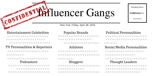 influencer gangs newspaper
