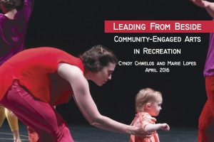 Leading from Beside- Paper Cover_Community-Engaged Arts in Recreation copy