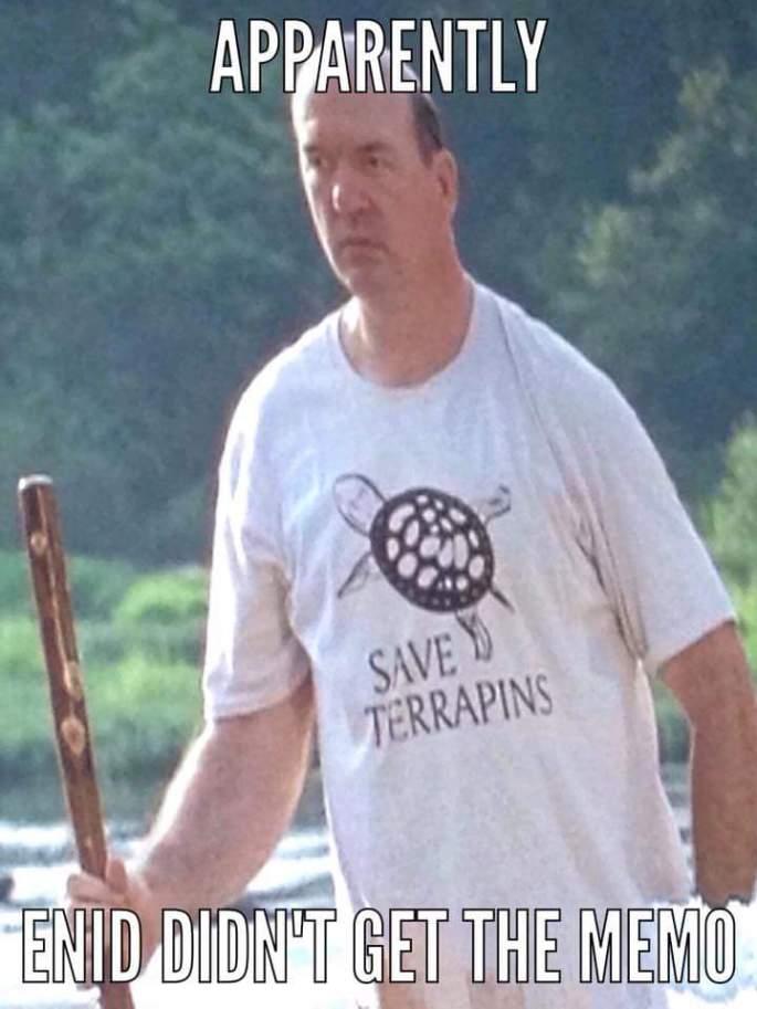 eastman turtle shirt the walking dead