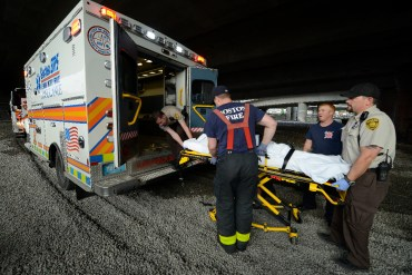 BOSTON EMS - ABC News brings BOSTON EMS to viewers who will ride along with the proud men and women of Boston Emergency Services, one of America's most seasoned teams of first responders. BOSTON EMS premieres SATURDAY, JULY 25 (10-11pm, ET) on the ABC Television Network. (ABC/Lorenzo Bevilaqua) BOSTON EMS
