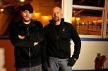 "GHOST HUNTERS -- ""The Belle of Louisville"" -- Pictured: (l-r) Steve Gonsalves, Jason Hawes -- (Photo by: Syfy)"