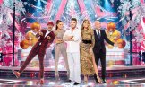 AMERICA'S GOT TALENT -- Season: 11 -- America's Got Talent Holiday Spectacular -- Pictured: (l-r) Nick Cannon, Mel B, Simon Cowell, Heidi Klum, Howie Mandel -- (Photo by: Chris Haston/NBC)
