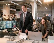 APB: PITCH:L-R: Justin Kirk and Caitlin Stacey in APB coming soon to FOX. ©2016 Fox Broadcasting Co. Cr: Chuck Hodes / FOX