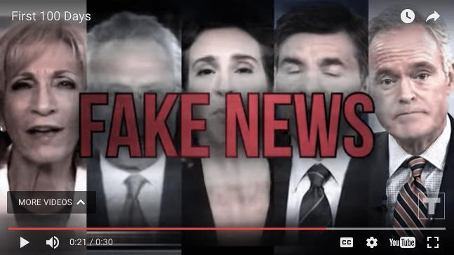 fake news trump ad