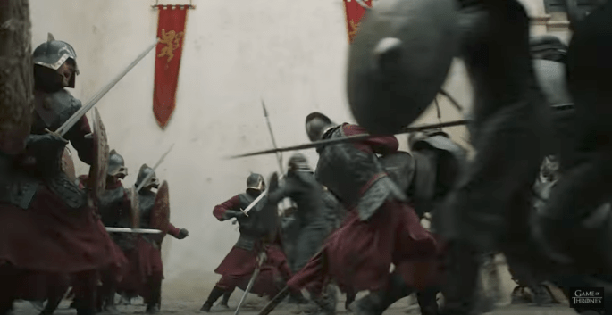 GOT Trailer Lannisters getting murdered