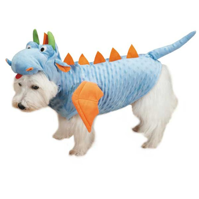dog costume dragon
