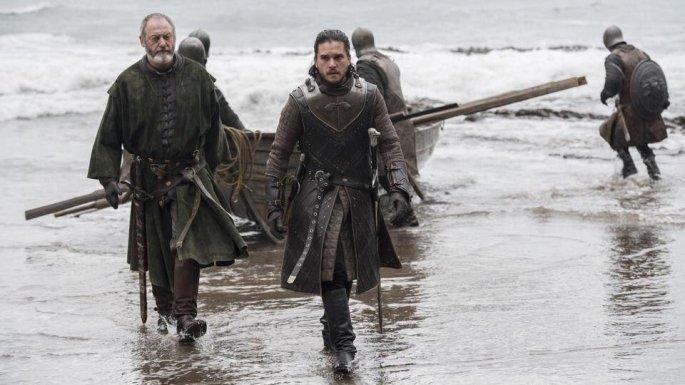 Game of Thrones Dragonstone-Jon-Davos-1