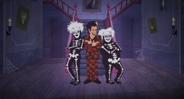 THE DAVID S. PUMPKINS HALLOWEEN SPECIAL -- (Photo by: NBC)