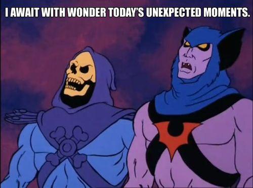 Skeletor I await with wonder