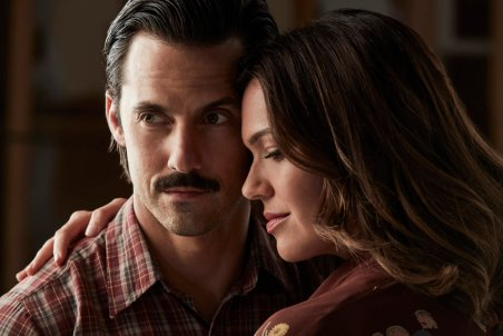 THIS IS US -- Season: 2 -- Pictured: (l-r) Milo Ventimiglia as Jack, Mandy Moore as Rebecca-- (Photo by: Maarten de Boer/NBC)
