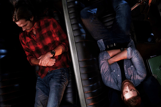 SPN_Sam Dean Baby backseat.jpg