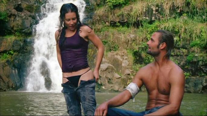 kate sawyer lost waterfall