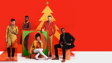 """PENTATONIX: A NOT SO SILENT NIGHT-- Pictured: """"Pentatonix: A Not So Silent Night"""" Key Art -- (Photo by: NBC)"""