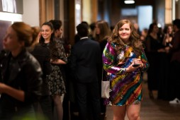 Shrill - Episode 103 - Annie isn't going to let her troll ruin all the success she's had recently. So, she invites Ryan to a work event -excited to introduce her boyfriend into her life. Annie (Aidy Bryant) shown. (Photo by: Allyson Riggs/Hulu)