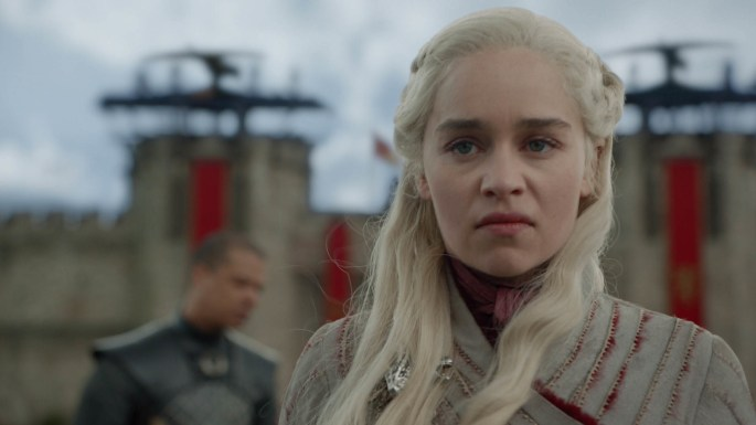 daenerys is pissed game of thrones angry