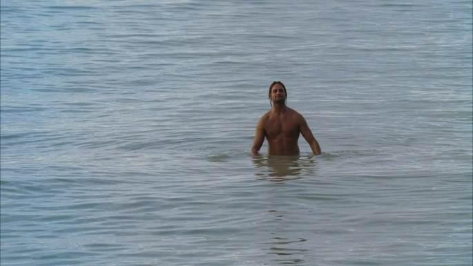 confidence man lost sawyer ocean