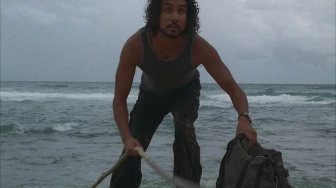 solitary lost sayid the cable