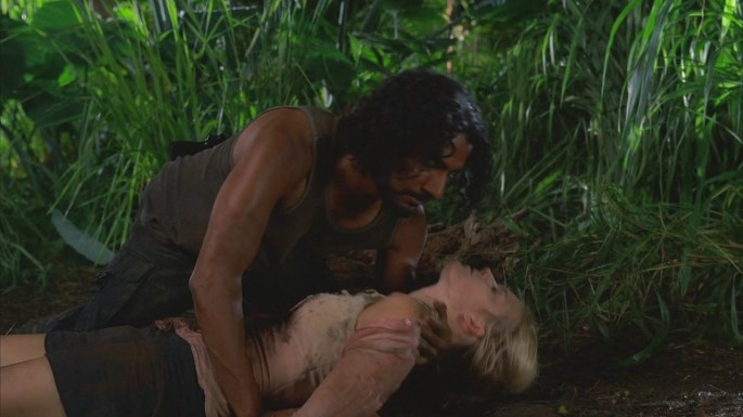 collision lost sayid and shannon