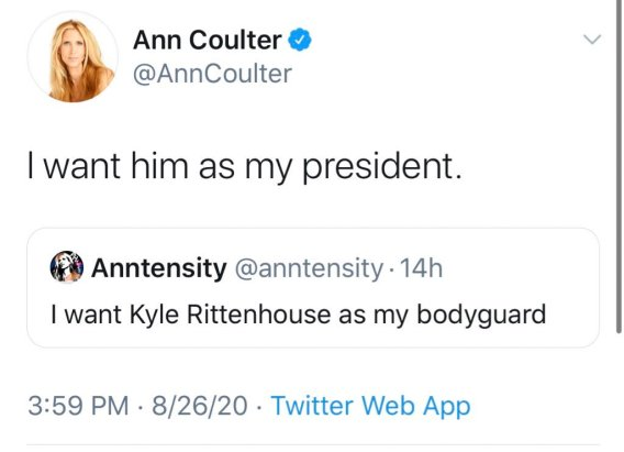 ann coulter tweet rittenhouse