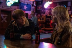 Charlie Heaton as Kurt, Malin Åkerman as Martha - For Life _ Season 1 - Photo Credit: Jorge Alvarino/AMC