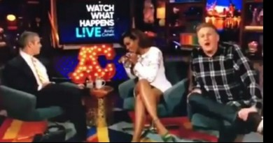 "Michael Rapaport Called Kenya Moore Feet ""Ashy As F**k"" On 'Watch What Happens Live'"
