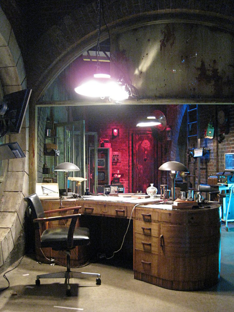 Torchwood set photos Jacks office  halfblognet