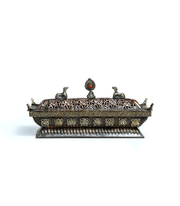 Incense Burner (Dhupauro) - Metal crafted in Nepal