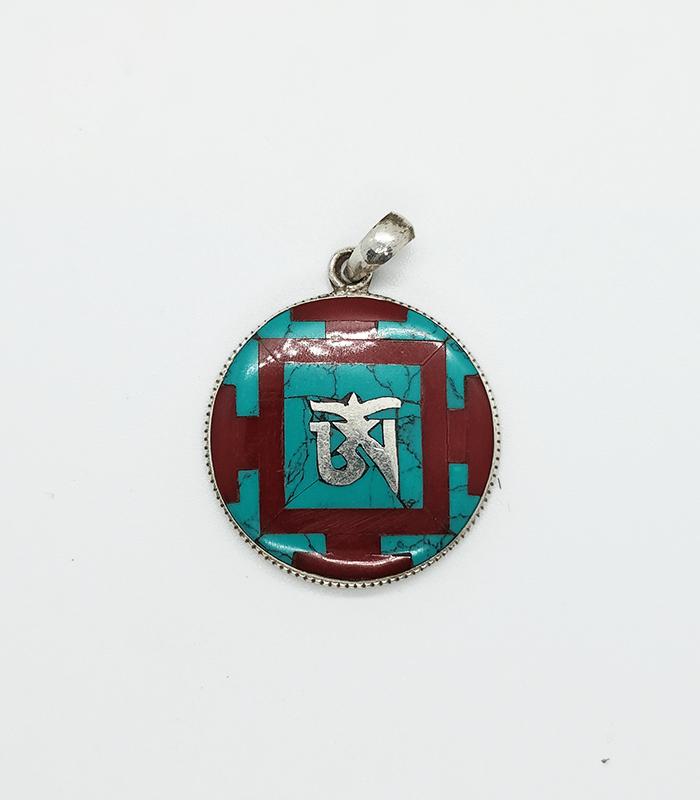 Jewelry: Mandala Om Pendant
