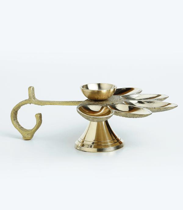 Pancha Aarati - Traditional Oil Lamp