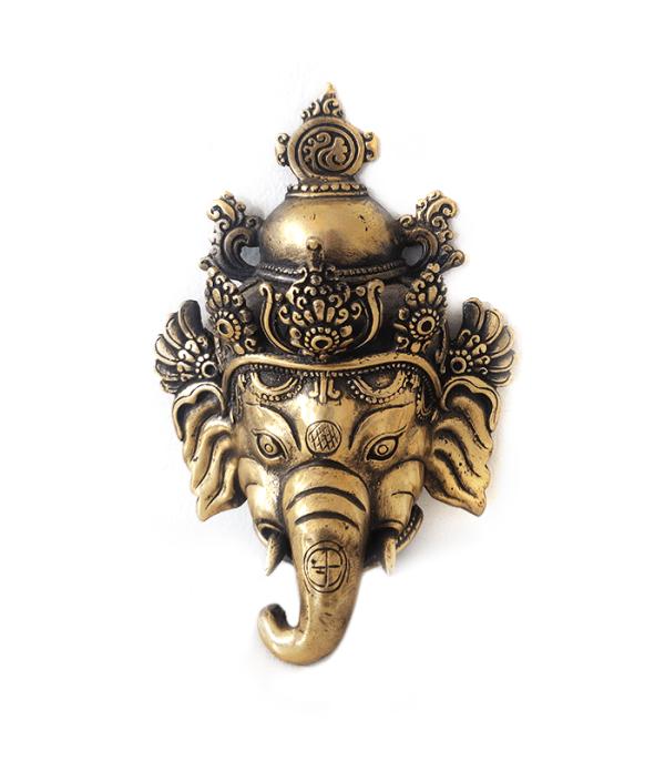 Ganesh Wall Mask - Handicrafts of Nepal