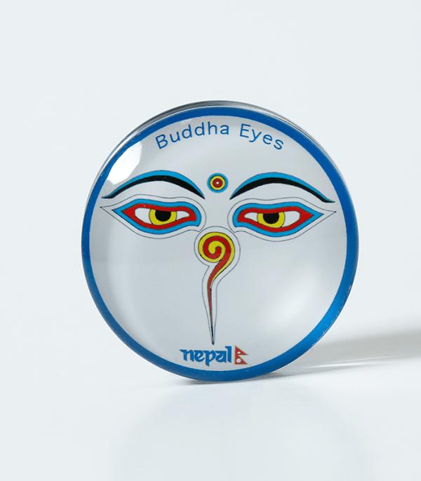 Fridge Magnet Buddha Eyes