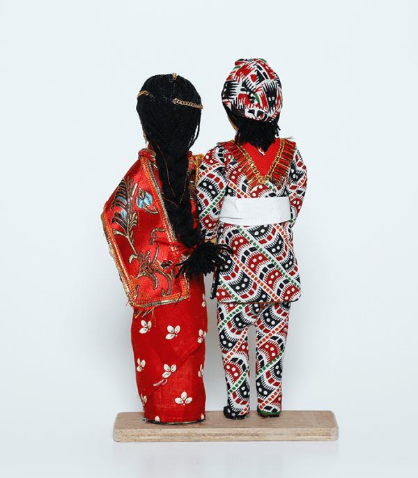 Handmade doll Dulla Dulhai