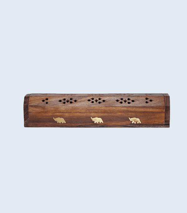Wooden Incense Burner – Dhupauro