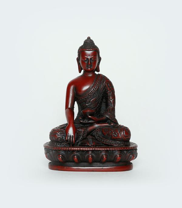 Buddha Resin Statue - Zazen Posture for Peace