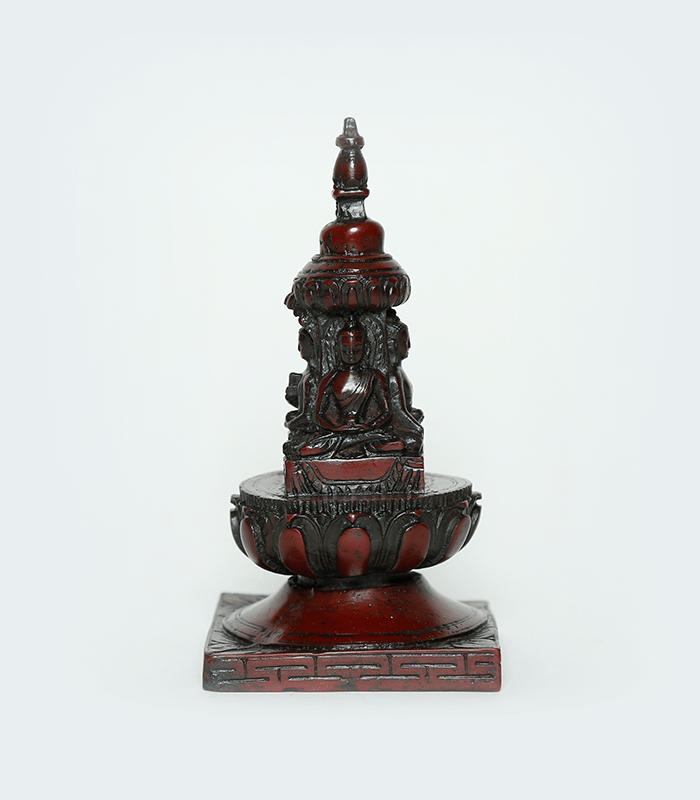 Chiba Dyo - Traditional Buddha Resin Stupa of Nepal