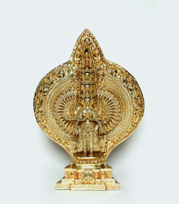Sahasra Bhuj Lokeshwor Statue- Exquisite Traditional Nepali Art