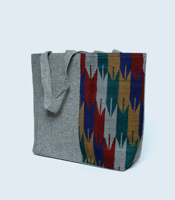Dhaka Pattern Handbag - Nepali traditional designs