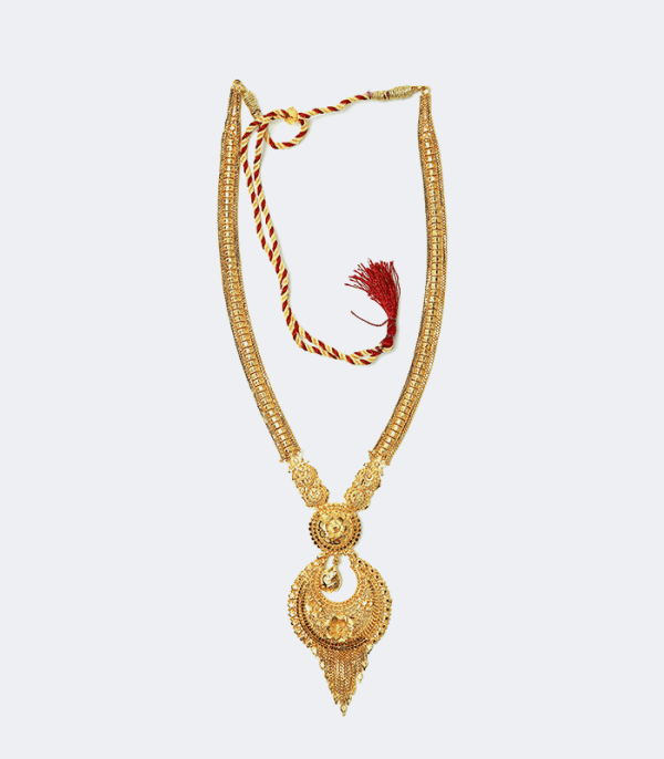 Rani Haar Moon Shape - Costume Jewelry of Nepal