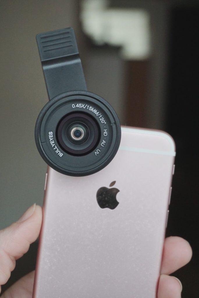 Smartphone lenzen test