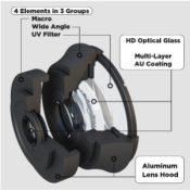 Bully Eyes smartphone lenzen specs