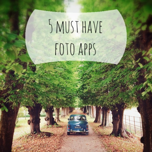 5 must have foto apps