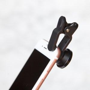 3-in-1 smartphone lens zwart