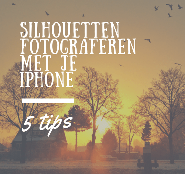 silhouettenfotograferenmet jeiPhone