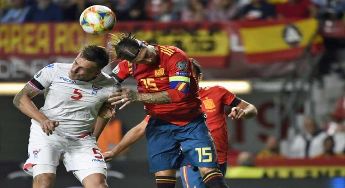 Euro-2020: l'Espagne à deux pas de la phase finale