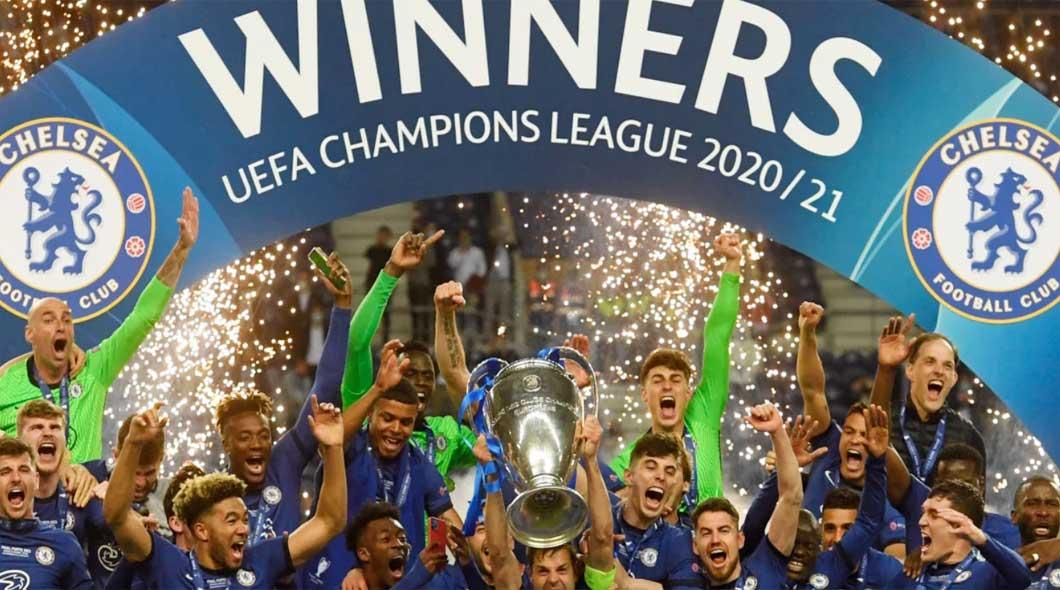 Sacre Chelsea ligue des Champions
