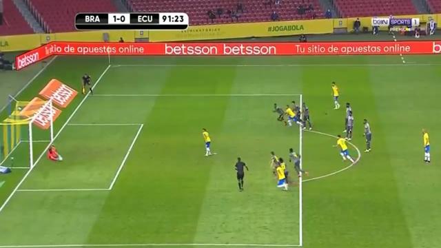 Eliminatoires Mondial 2022 : Brésil 2 – Equateur 0