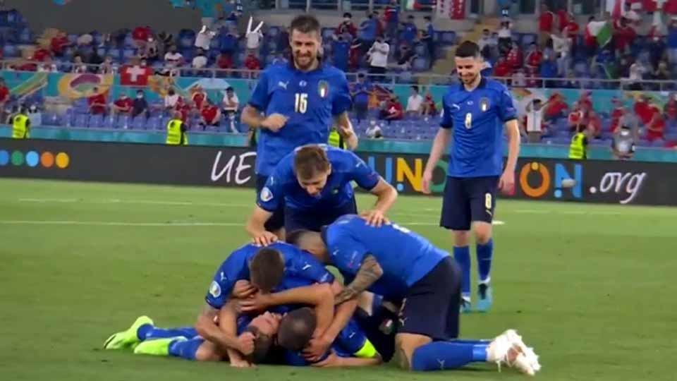 EURO 2020 : ITALIE – SUISSE (3-0), LA SQUADRA AZZURA EST EN 8e